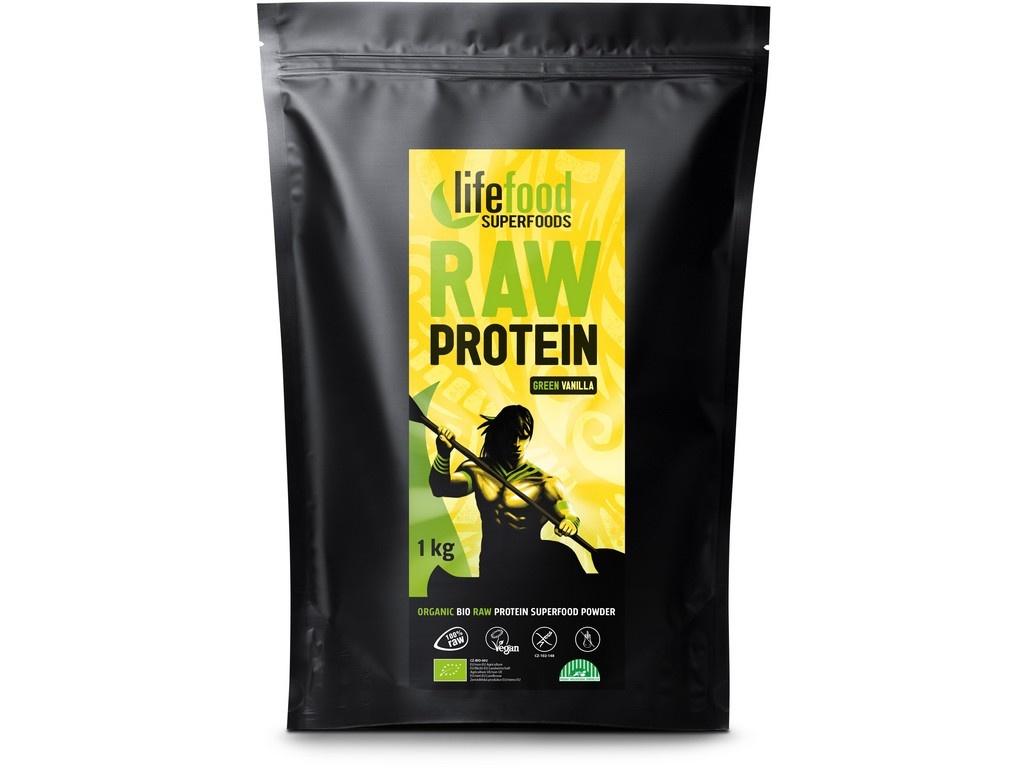 Bio protein vanilkovy raw - gastro 1 kg