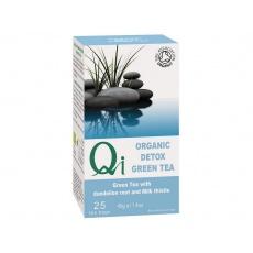 Bio zelený čaj Qi Detox Pampeliška a ostropestřec 25x1,8g