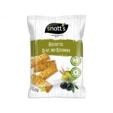 Snack Bocaditos olivy a rozmarýn 110g