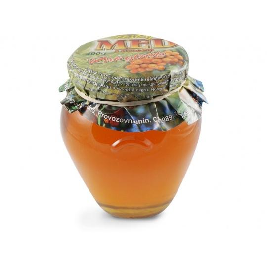 Med s ovocem rakytník 400g