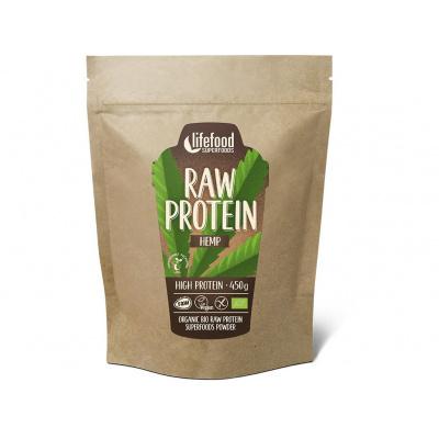 Bio protein konopný raw 450g
