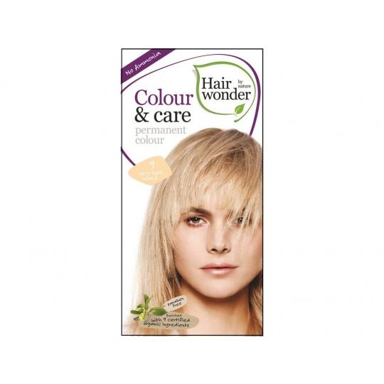 Přírodní dlouhotrvající barva Velmi světlá blond 9 100ml