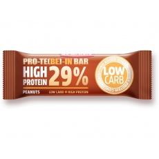 Tyčinka PRO-TE(BE)-IN  high protein Arašídy 35g