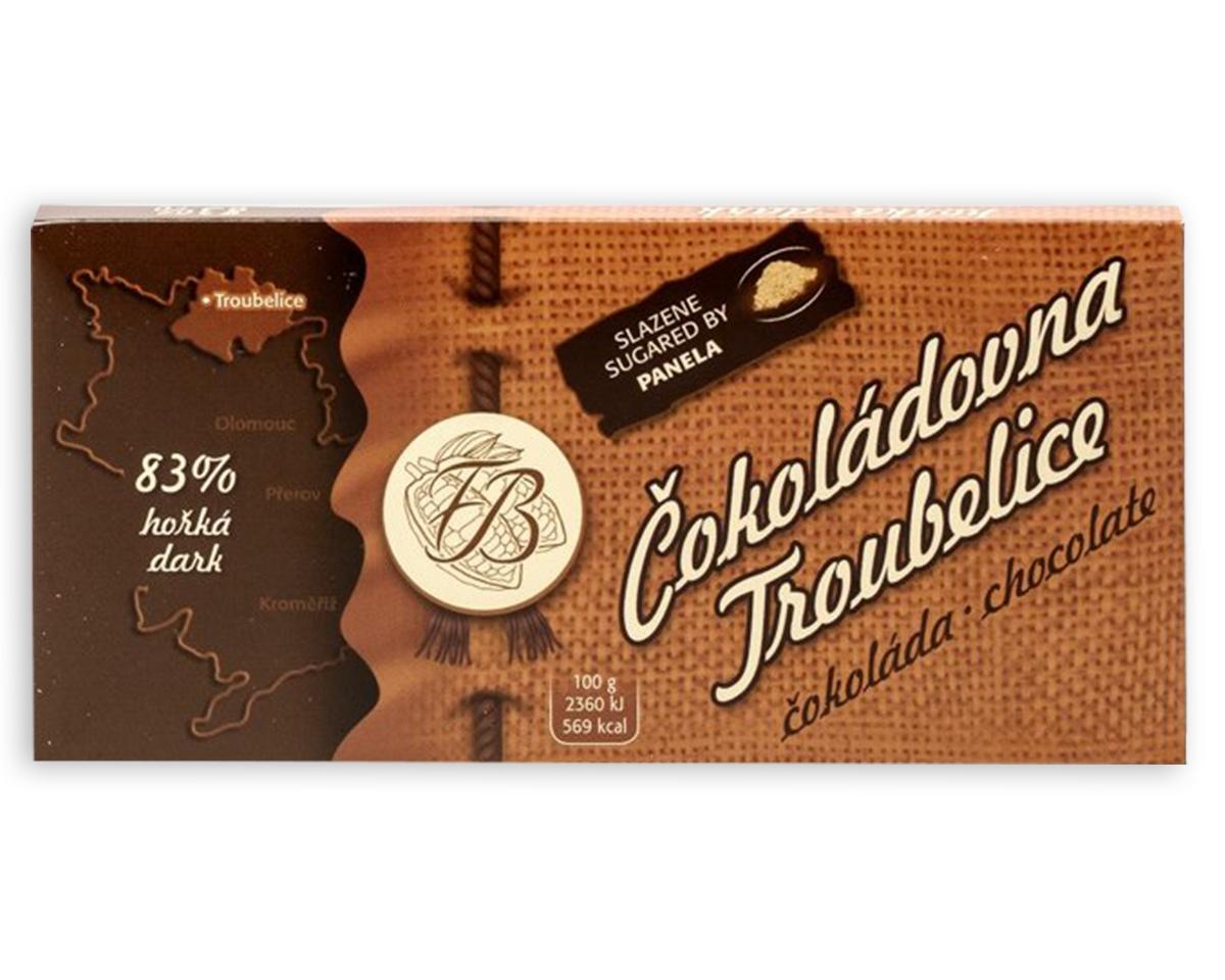 Čokoláda hořká 83% , 45 g