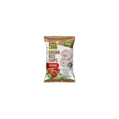Rýžové chipsy s kečupem 60g