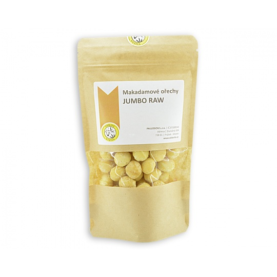 Makadamové ořechy JUMBO 500g