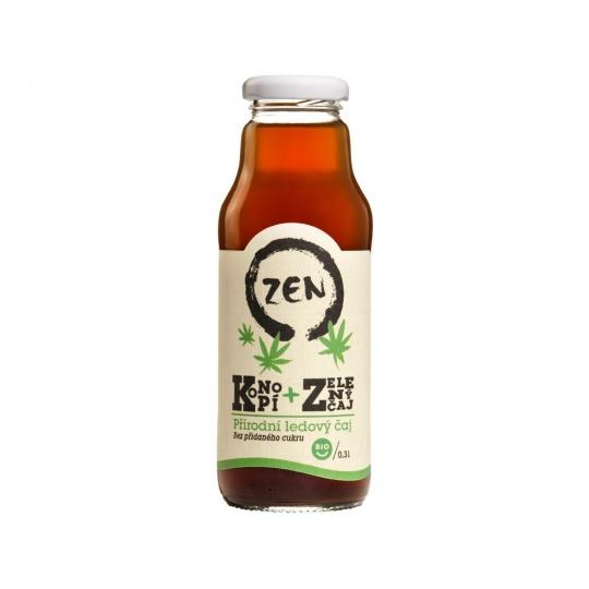 Bio ZEN konopí a zelený čaj 300ml