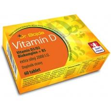 Vitamín D3/D2  Biokomplex + B5 extra silný 2000 I.U. 60tbl.