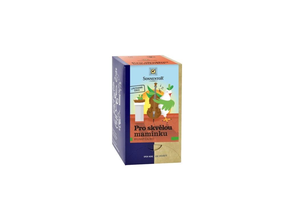 Bio bylinný čaj Pro skvělou maminku 27g