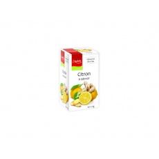 Čaj Citron a zázvor 20x2g