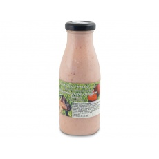 Kozí jogurtový nápoj Jahoda 0,25l + vratná láhev