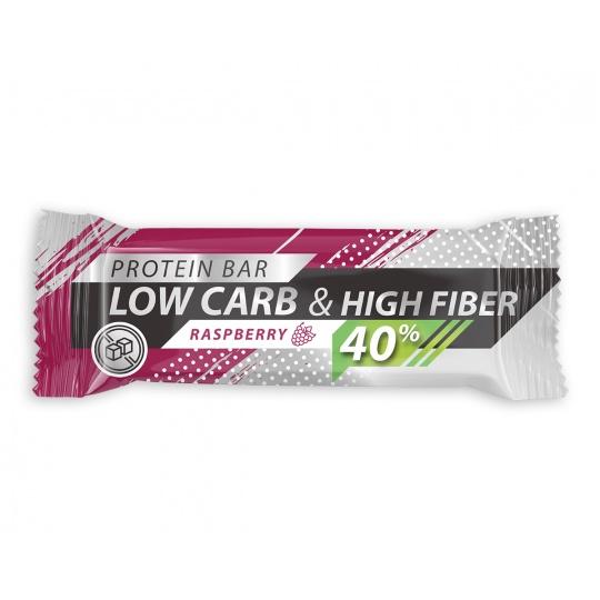 Low Carb | High Protein 40% Živan - Rapsbery 35g