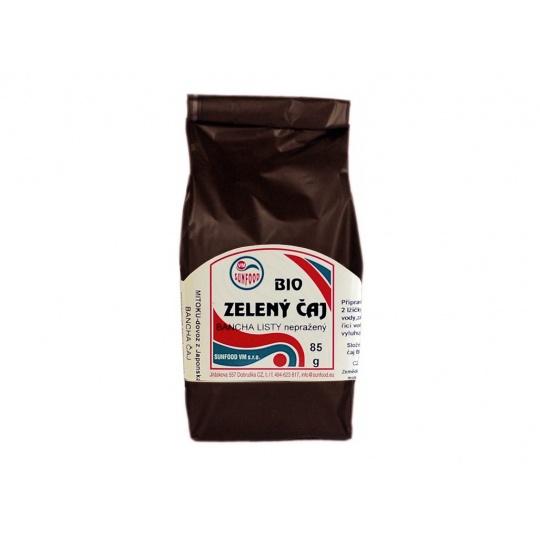 Bio Bancha zelený čaj lístky 85 g