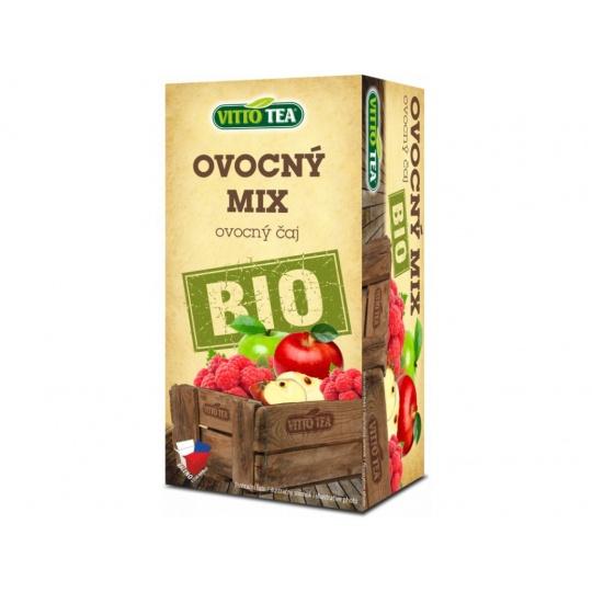 BIO čaj Ovocný mix porcovaný 40 g