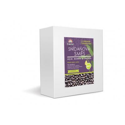 Bio snídaňová směs acai-banán-jahoda family 3,2kg