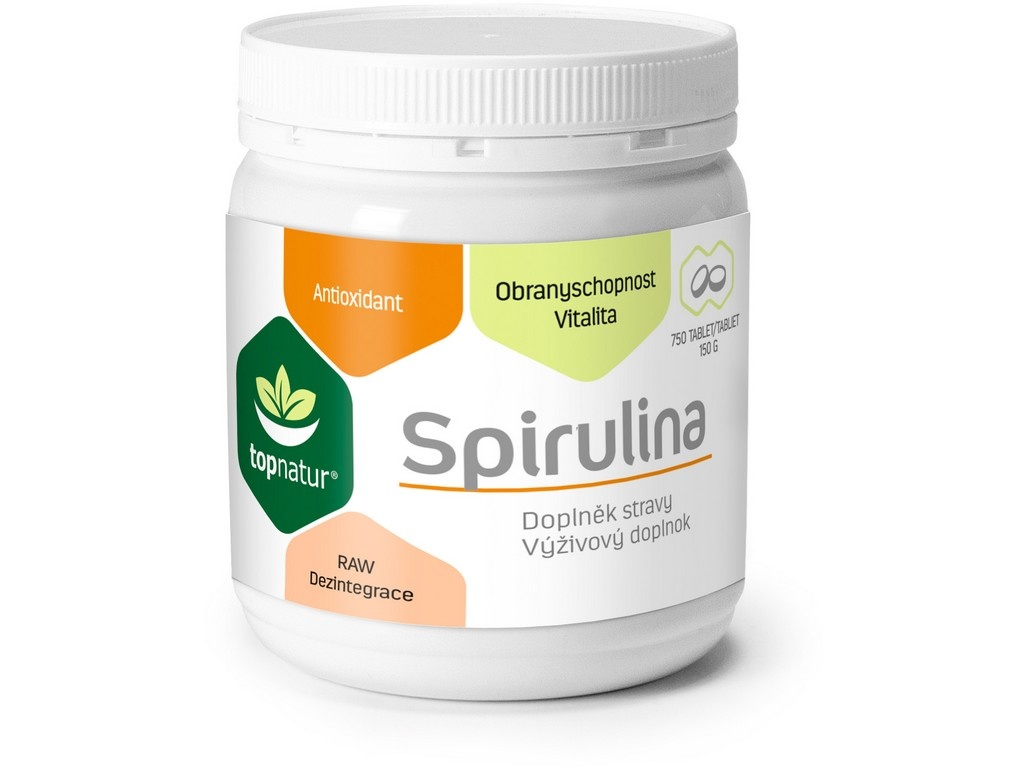 Spirulina 750 tablet