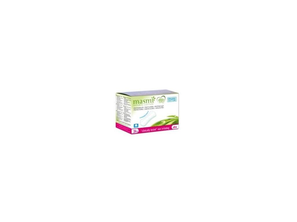Ultratenké slipové vložky z organické bavlny Masmi 24 ks