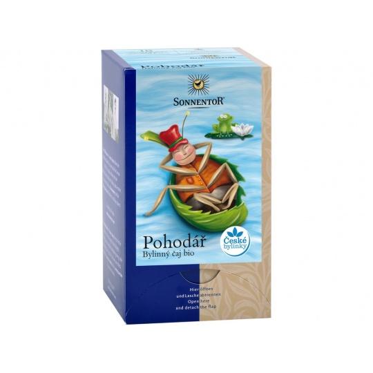 Bio Pohodář bylinný čaj 27g  porc. dvoukomorový