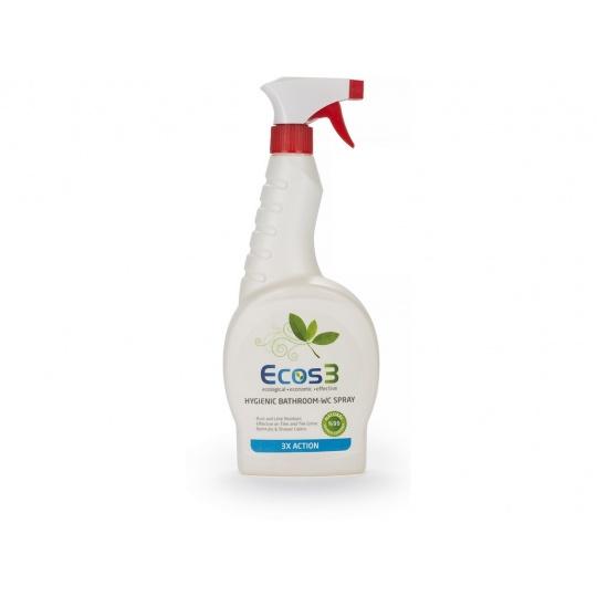 Hygienický čistič koupelen a WC 750 ml spray