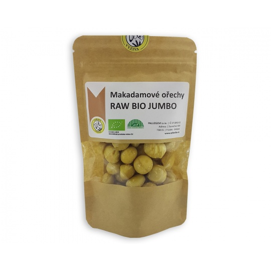 Makadamové ořechy RAW BIO JUMBO 180g