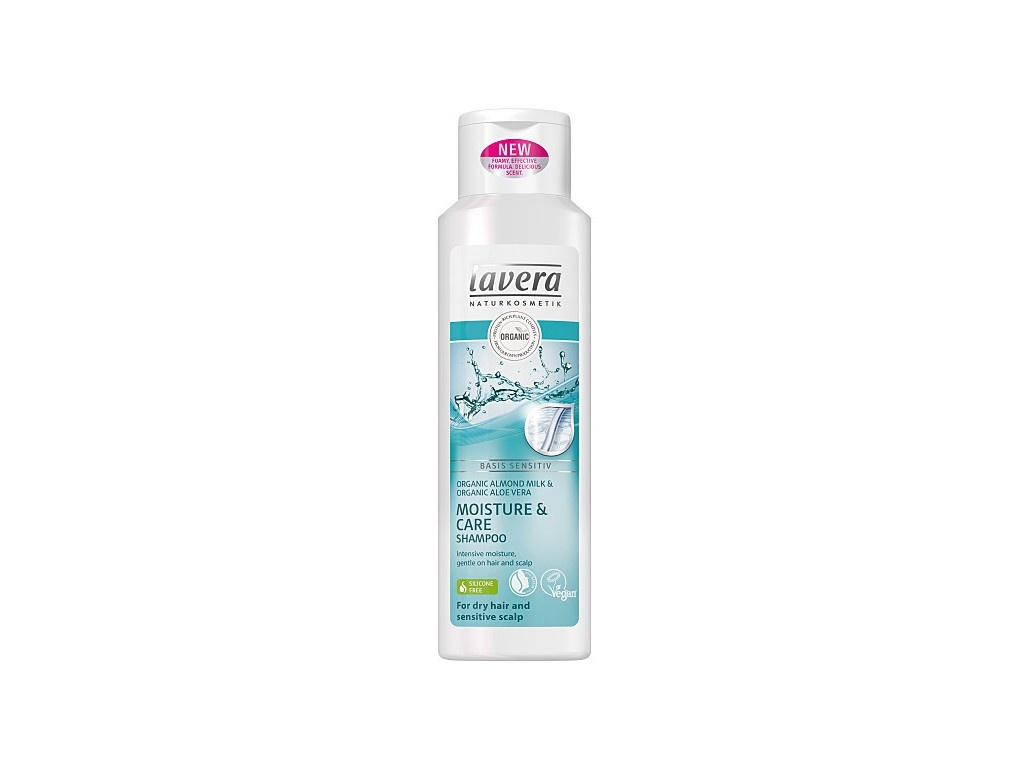 Šampon Moisture& Care Lavera 250ml