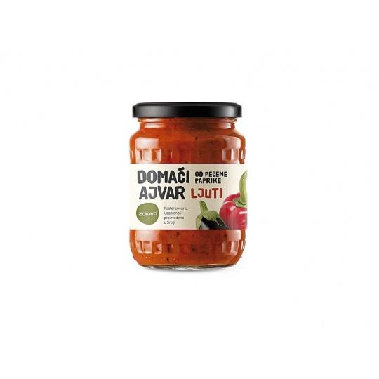 Ajvar z pečené papriky pálivý 560g