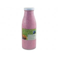 Jogurtový nápoj Borůvka  0,5l + vratná láhev