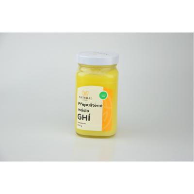 Přepuštěné máslo GHÍ 400 g min.trvanlivost 10.10.2019