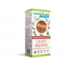 Bio přírodní barva na vlasy 100% 6 - Světle hnědá 100g