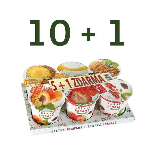 Akční balení Zdravá snídaně varianta A 10+1ZDARMA