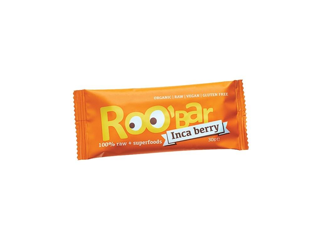 Bio tyčinka Roobar Datlová mochyně pomeranč 30g RAW