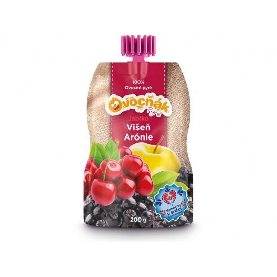 Ovocné pyré jablko-višeň-arónie 200g