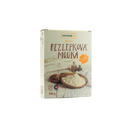 NOMIX - bezlepková mouka - Nominal 500g MIN.TRV. 22.10.2019 skladem 1 ks