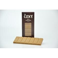 Čokoláda bílá s kávou a xylitolem - ČOXY 50 g
