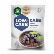 LOW CARB | KETO kaše Kakao & Borůvka 60g (1 porce)