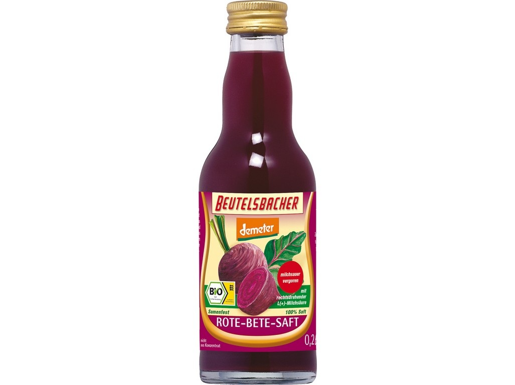 Bio řepná šťáva mléčně kvašená Beutelsbacher 0,2 l