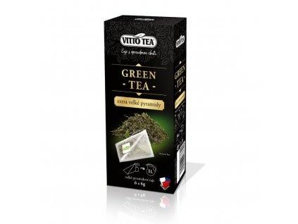 ZELENÝ ČAJ GREEN TEA (EXTRA PYRAMIDOVÉ SÁČKY) 6x8 g