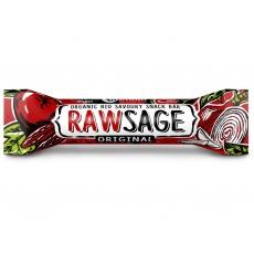 AKCE - Bio tyčinka Rawsage original - snack bar pikantní  25g. Min. trv. 5.10.2021