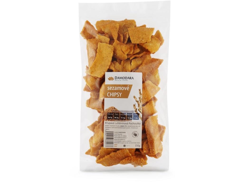 Sezamove chipsy150g