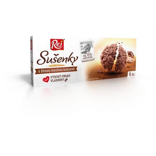 Sušenky kakaové s žitnou moukou 120g