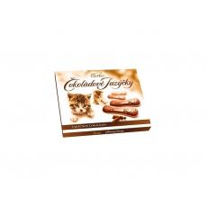 Čokoládové jazýčky mléčné 100g