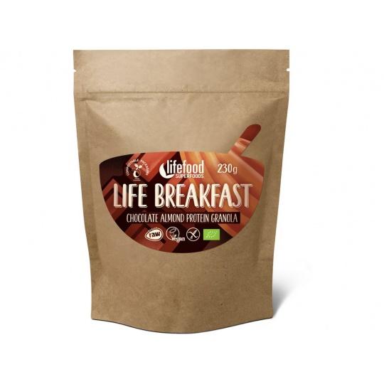 Bio Life breakfast Granola čokoládová s mandlemi 230g