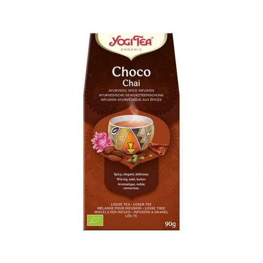 Bio Choco Chai sypaný Yogi Tea 90 g