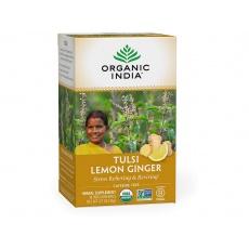 Tulsi citronovozázvorový čaj porcovaný 36g