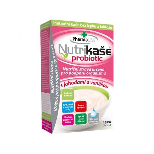 Nutrikaše probiotic s jah.a vanilkou 180g (3x60g)