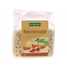Bio arašídy loupané nepražené 200g