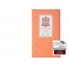 Bio čokoláda 70%  květy a pomeranče výběrové boby 45g