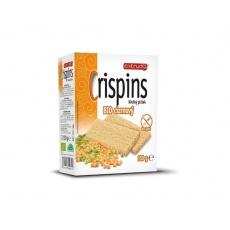 Bio křehký plátek Crispins cizrnový 100g