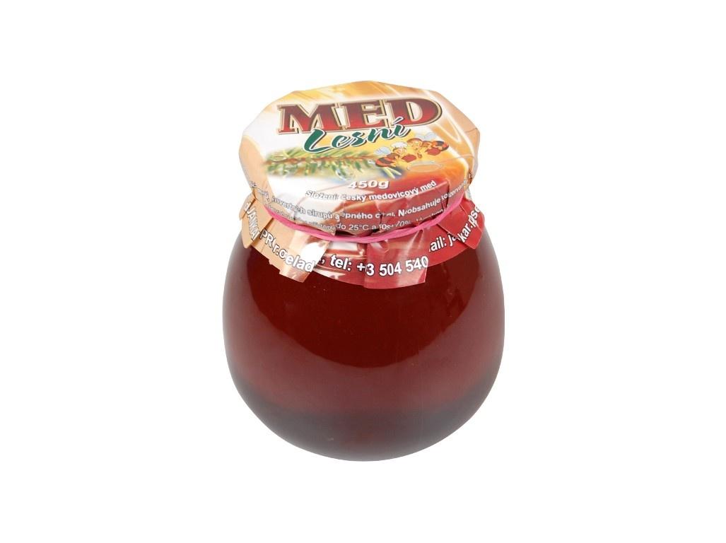 Med tmavý lesní 400 g
