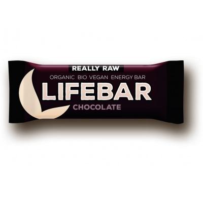 Bio tyčinka Lifebar čokoládová 47g